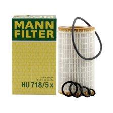 曼牌/MANNFILTER 机油滤清器 HU718/5X