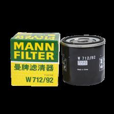 曼牌/MANNFILTER 机油滤清器 W712/92