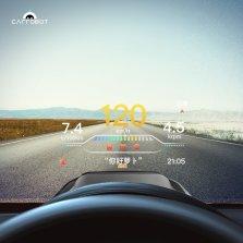 车萝卜 炫动版 车载抬头显示器hud智能抬头多功能obd车速高清投影