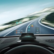 车萝卜 C2-Lite青春版 车载抬头显示器hud智能抬头多功能obd车速高清投影