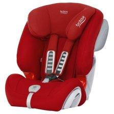 宝得适/Britax  全能百变王 9个月-12岁汽车儿童安全座椅 3c认证含凉席(火辣红)