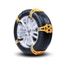 尤利特 冬季汽车轮胎雪地胎防滑链雪地加厚防滑链条 加厚TPU8片装大小通用型 YD-825