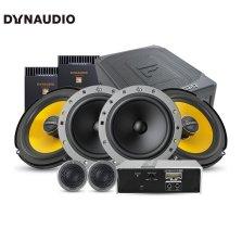 免费安装 丹拿DYNAUDIO ESOTAN 236 汽车音响改装 两分频套装+650x+480.6C DSP+F68有源低音炮 全车六喇叭超薄低音套餐