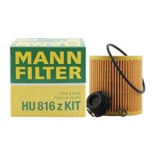 曼牌/MANNFILTER 机油滤清器 HU816zKIT