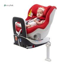 宝贝第一 企鹅萌军团 0-4岁 360°旋转 带isofix婴儿安全座椅(经典红)