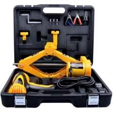 尤利特 豪华版电动千斤顶套装 应急救援维修工具箱【电动扳手】YD-022