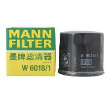 曼牌/MANNFILTER 机油滤清器 W6018/1