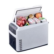 婷微/Tingwei CB-18AC/DC半导体电子冷热箱 车家两用办公室宿舍药品化妆品冷藏箱家用小冰箱 纯白色18L车家两用