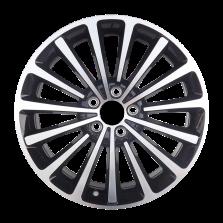 丰途严选/HG1363 18寸 帕萨特/迈腾原厂款轮毂 孔距5X112 ET48黑色车亮