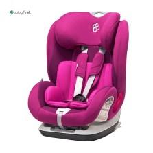 宝贝第一 铠甲舰队尊享版 9月-12岁 isofix 儿童汽车安全座椅(石榴紫)