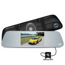 凌度 C-19 5.5寸触摸屏 无光夜视 流媒体后视镜 行车记录仪 标配