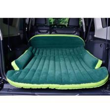 追趣 高端加厚SUV通用后尾厢充气床垫 6P环保车中床 车睡宝【绿色】