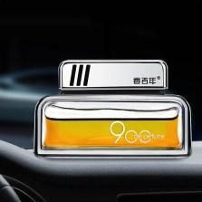 香百年 汽车香水座式 车载香水香膏香薰 车用空气净化摆件挂件 900橙色-热情 浓香 Z-109
