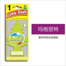 美国小树/Little Trees 汽车香片 香水挂件 除异味车载香水【玛格丽特】