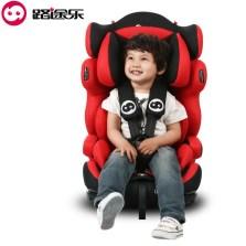 路途乐 路路熊A 升级版 9个月-12岁汽车儿童安全座椅 isofix软接口【旗舰红】