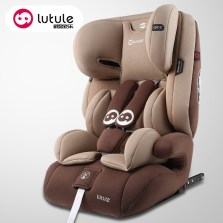 路途乐 汽车儿童安全座椅9月-12岁 ISOFIX接口 3C认证 路路熊Air C【绅士咖】