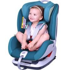 宝贝第一 太空城堡系列  0-6岁 isofix 汽车儿童安全座椅(宝塔蓝)