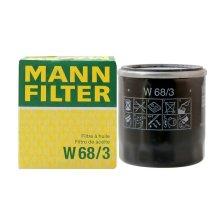 曼牌/MANNFILTER 机油滤清器 W68/3