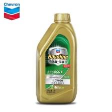 【品牌直供】雪佛龙/CHEVRON 金富力ECO5 SN 0W-20 GF-5 全合成机油 1L