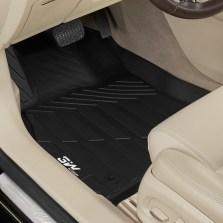 3W 全TPE脚垫凯迪拉克ATSL XT5 CT6 XTS专车专用无异味健康脚垫【XTS黑色】