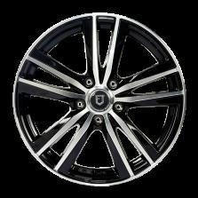 丰途/FT509 17寸 低压铸造轮毂 孔距5X112 ET43黑色车亮