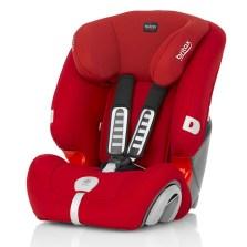 宝得适/Britax 超级百变王白金版 儿童安全座椅 9个月-12岁(热情红)