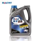 【正品授权】美孚/Mobil 速霸2000半合成机油 5W-40 SN级(4L装)
