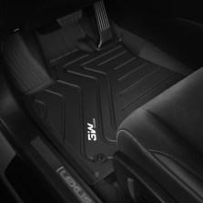 3W 全TPE脚垫雷克萨斯ES RX NX CT GS专车专用无异味健康脚垫【RX黑色】