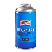 【空注每车3-4瓶】冠军/CHAMPION HFC-134a 环保雪种 冷媒 汽车空调制冷剂 220g
