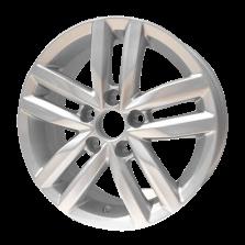 热销款 丰途严选/HG0482 14寸 大众捷达原厂款轮毂 孔距5X100 ET38银色涂装