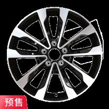 预售 丰途严选/HG0324 16寸 菲亚特菲翔原厂款轮毂 孔距5X110 ET43黑色车亮
