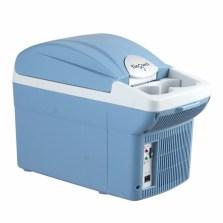 婷微/Tingwei车载冷热箱 CB-08B蓝色6L升半导体电子冷藏箱 学生宿舍药品化妆品小冰箱 6L单车用