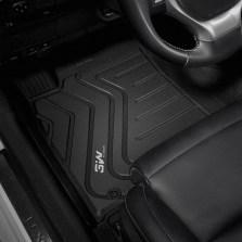 3W 全TPE脚垫雷克萨斯ES RX NX CT GS专车专用无异味健康脚垫【ES黑色】