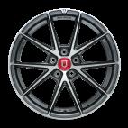 丰途/FR553 18寸 旋压铸造轮毂 孔距5X120 ET30亮铁灰车亮