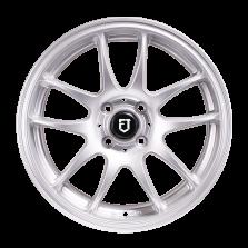 丰途/FT504 15寸改装轮毂 银色 4X100 赛欧/思迪/飞度/新飞度/乐驰/威驰/花冠/乐风/乐骋/阳光