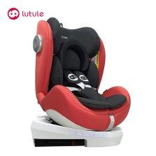路途乐星跃AIR V 儿童座椅汽车0-4-12岁宝宝婴儿车载360度旋转躺
