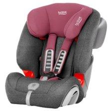 宝得适/Britax  全能百变王 9个月-12岁汽车儿童安全座椅 3c认证含凉席(玫瑰粉)