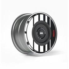 BA 湾区工业  特斯拉model 3/y专用改装轮毂盖 白色(联名款) 2只装