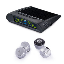 小飞将 太阳能胎压监测器 X7 无线TPMS系统轮胎气压表【无线外置】