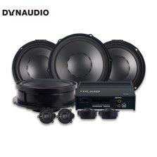 【免费安装】丹拿DYNAUDIO SURPAX V17 大众专用汽车音响+FEM AUDIO 480.6 DSP功放全车八扬声器无损安装 DSP电脑调音