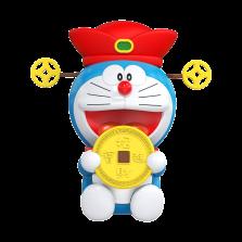 哆啦A梦正版授权 汽车仪表台摆件 送香片【财神爷】