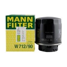 曼牌/MANNFILTER 机油滤清器 W712/90