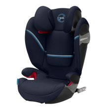 德国 2020新款cybex/赛百适 汽车儿童安全座椅solution S-fix 3-12岁 海军蓝