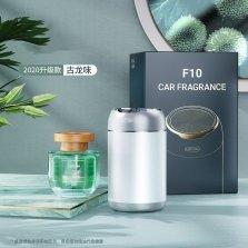 图拉斯 植物萃取古龙味香水杯氏车载香薰 铝合金银色