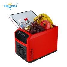 婷微(Tingwei)CB-12 12L红色触控升级 四季车载冰箱 智能数显车载冷暖箱