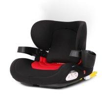 瑞贝乐/REEBABY儿童安全座椅3-12岁便携式车载增高垫ISOFIX硬接口【勃艮第红】